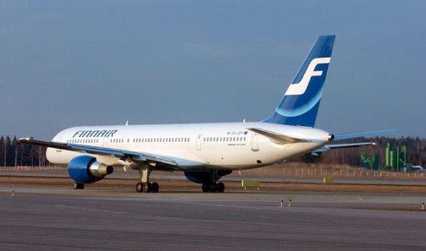 Helsinki-Vantaalle laskeutuneessa koneessa oli tekninen vika.