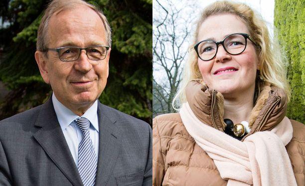 Erkki Liikasta ja Miapetra Kumpula-Natria on spekuloitu mahdollisiksi ehdokkaiksi.