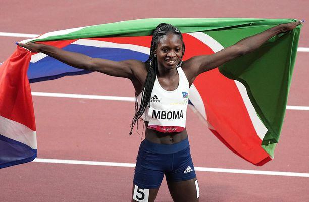 Christine Mboma juoksi sensaatiomaisesti hopealle naisten 200 metrillä-