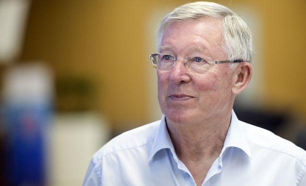 Sir Alex Ferguson leikattiin tänään.