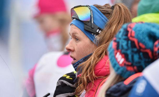 Laura Mononen hiihti sijalle 14.
