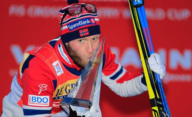 Maailmancupia dominoiva Martin Johnsrud Sundby jäi Falunissa viidenneksi.