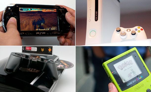 Lähes puolet historian myydyimmistä konsoleista on kannettavia.