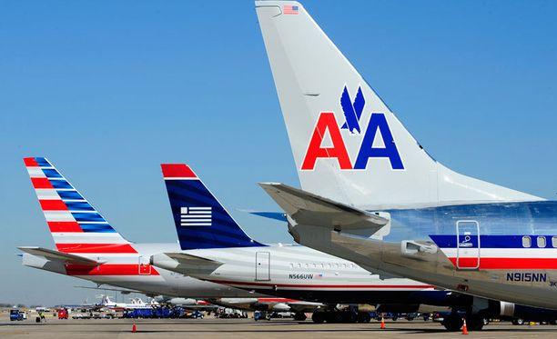American Airlines ja US Airways yhdistyivät.