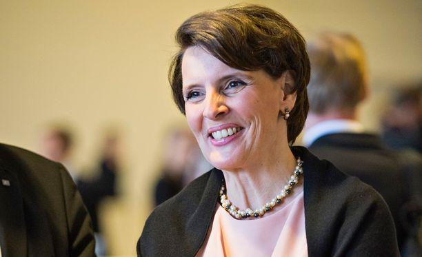 Liikenne- ja viestintäministeri Anne Berner (kesk) on Vallila Interior Ab:n hallituksen puheenjohtaja ja pääomistaja.