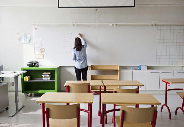 Opettajista lähes puolet on kokenut kiusaamista tai epäasiallista kohtelua. Kuvituskuva.