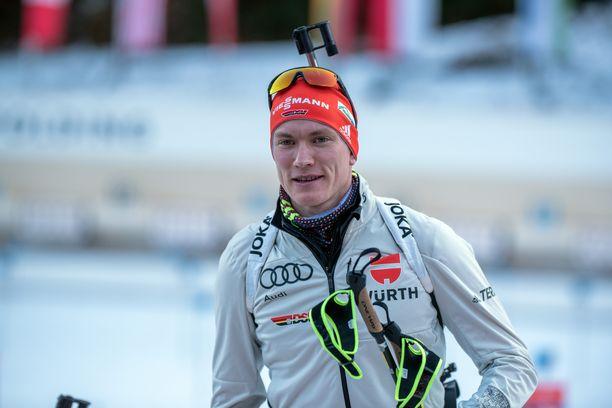 Benedikt Doll on voittanut urallaan seitsemän ampumahiihdon arvokisamitalia.