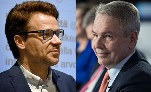 Ville Niinistö ja Pekka Haavisto saattavat olla vihreiden vahvimmat puheenjohtajaehdokkaat.