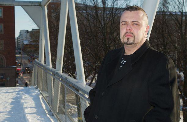 Janne Hurme kuvattuna vuonna 2012.