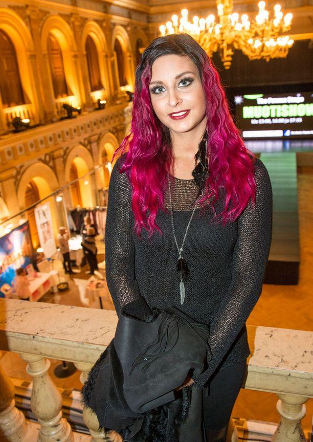 Sofia Mäkkylä muistetaan myös kevään Miss Rock -kilpailusta.