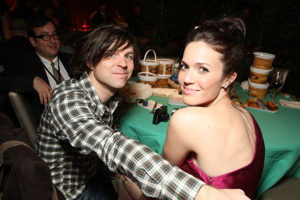 Ryan Adams ja Mandy Moore vuonna 2010.