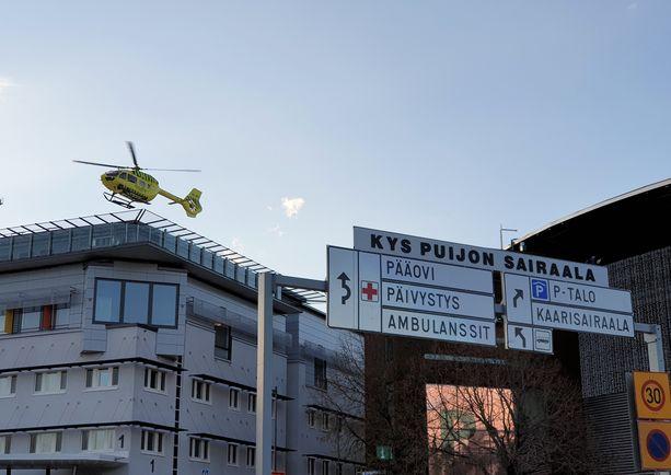 Uhri leikattiin yliopistollisessa sairaalassa ja näin vatsakomplikaatiot estyivät. Arkistokuva.