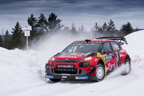 Esapekka Lappi nappasi uransa viidennen podium-sijoituksen Ruotsissa.
