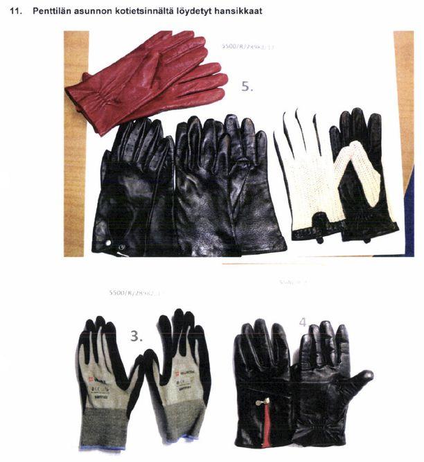 Michael Penttilä on aiemmin tuomittu kolmesta henkirikoksesta ja useista tapon yrityksistä. Uhrinsa hän on tappanut kuristamalla nahkahanskat käsissään. Nämä hanskat poliisi on takavarikoinut kotietsinnässä Penttilän asunnosta.