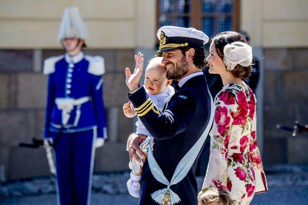 Prinssi Gabriel syntyi elokuussa 2017.