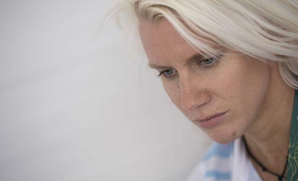 Sandra Eriksson joutui miesahdistelijan uhriksi.