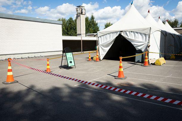Testausasema Helsingissä. Kuvituskuva.