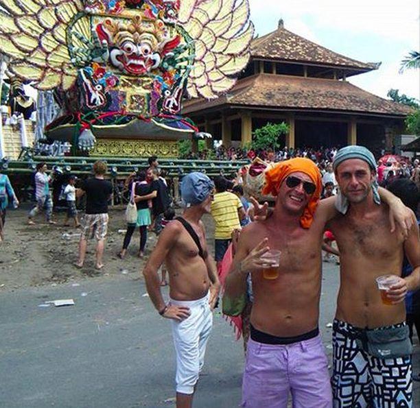 Turistit ottavat usein Balilla turhan rennosti.