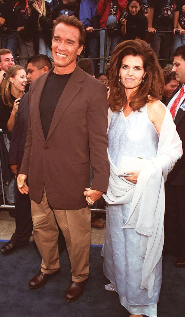 Arnold Schwartzenegger salaili lehtolastaan vaimoltaan Maria Shriverilta vuosien ajan.