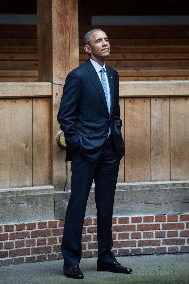 Barack Obama on pitänyt kuluvana vuonna tähän asti matalaa profiilia.