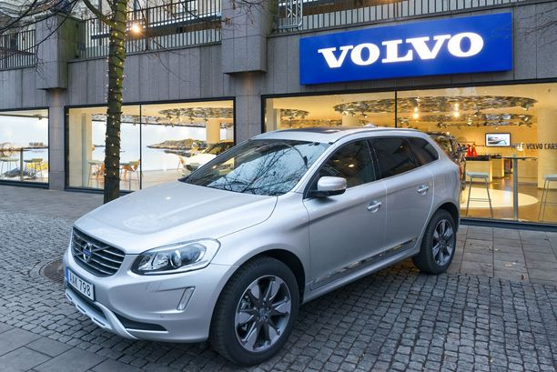 Volvo XC60 on suosittu tuontiauto.