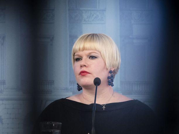 Annika Saarikko valittiin Keskustan puheenjohtajaksi syyskuun alussa.