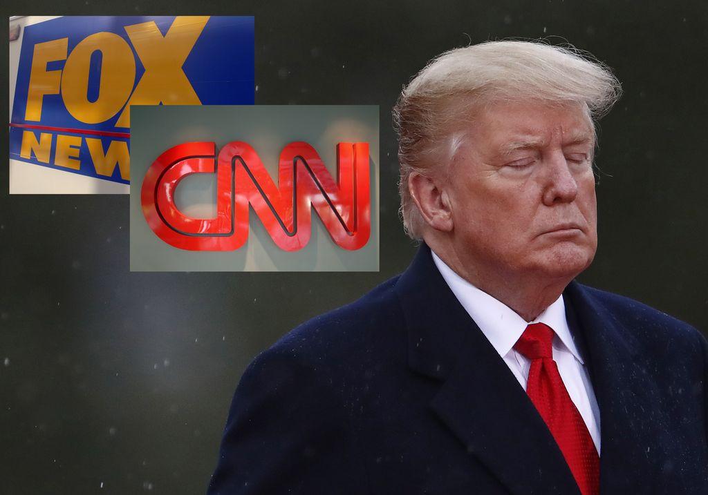 CNN haastoi Valkoisen talon oikeuteen – Trumpin suosikkikanava Fox News ilmoitti tukevansa kilpailijaansa