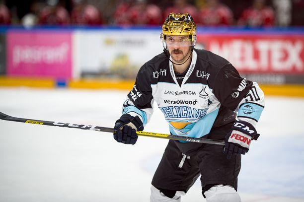Juhamatti Aaltonen pelaa Lahdessa myös alivoimaa.