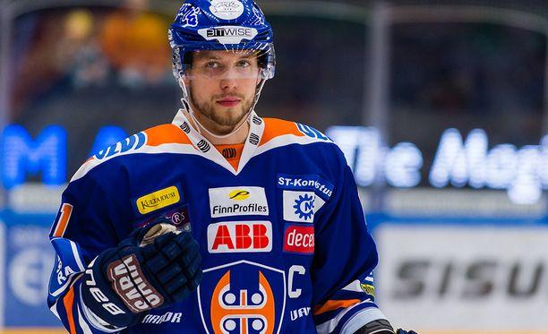Kapteeni Jukka Peltola peräänkuuluttaa Tapparalta vielä enemmän pelirohkeutta.