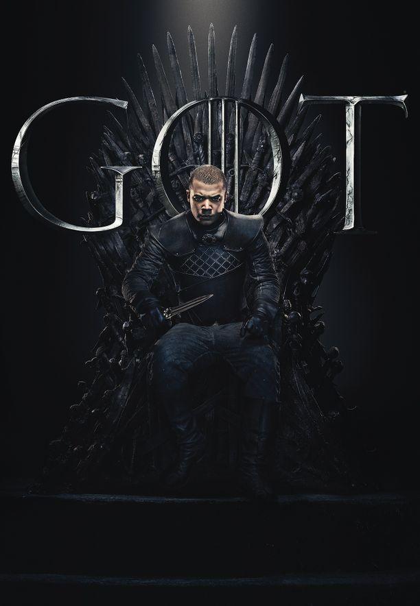 Harmaa mato (Jacob Anderson) sai kokea rakkauden Missandein kanssa. Matka on ollut pitkä orjasta Daenerysin ykkössoturiksi.
