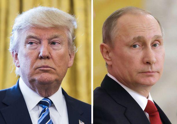 Trump tapaa huomenna perjantaina Venäjän presidentin Vladimir Putinin ensimmäistä kertaa.