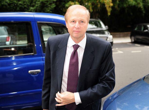BP:n toimitusjohtaja Bob Dudley Lontoossa vuonna 2010, kaksi vuotta väitetyn myrkyttämisen jälkeen.