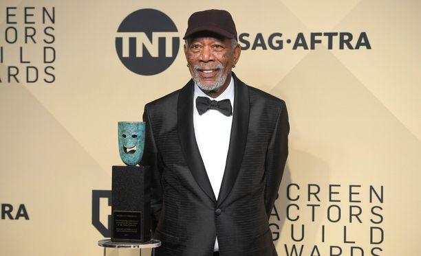 Morgan Freeman joutui myrskyn silmään, kun CNN julkaisi jutun ahdistelusyytöksistä.
