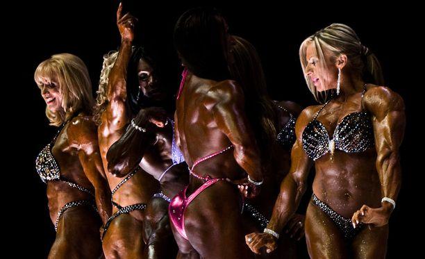 Haifa Musawi haluaisi kilpailla muiden ammattilaisten kanssa.