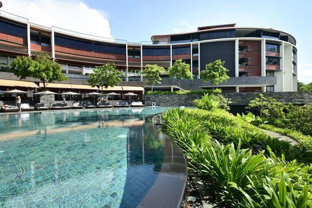 Historiallinen tapaaminen järjestetään Sentosa-nimisellä saarella. Malajin kielellä sana tarkoittaa rauhaisuutta.