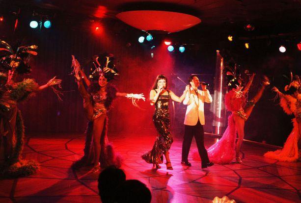 Siljan yökerhoshow vuonna 1999.