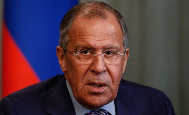 Sergei Lavrov oli puhelinyhteydessä John Kerryyn.