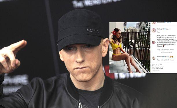 Eminem teki vuonna 2002 Hailie's Song -nimisen kappaleen, joka kertoi hänen tyttärestään.
