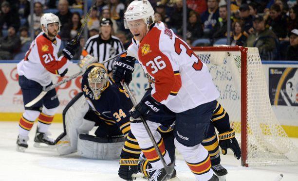 Jussi Jokisen edustama Florida Panthers haki vieraspisteet Buffalosta.