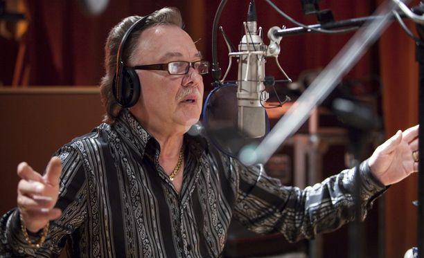 Studiossa helmikuussa 2010.