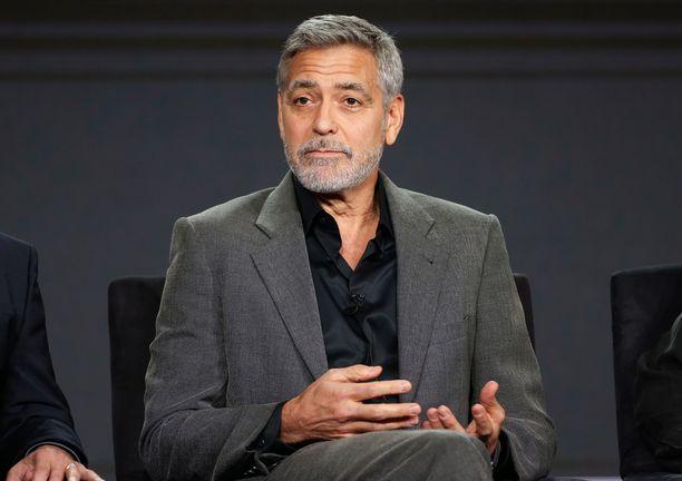 George Clooney toivoo ihmisten boikotoivan hotelliketjua.