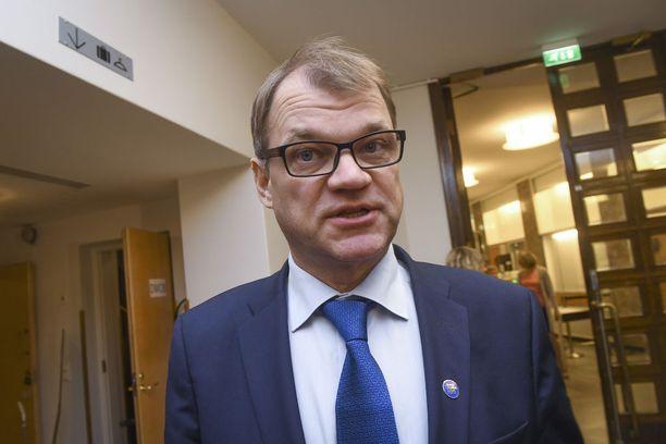 Pääministeri Juha Sipilä.