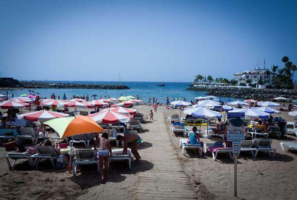 Hiihtolomaviikoille on yhä myynnissä matkapaketteja Gran Canarialle.