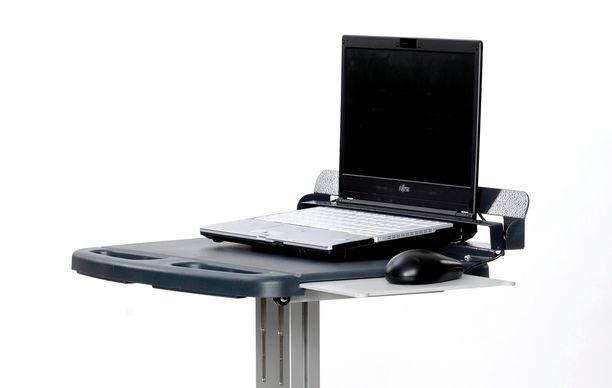 Työpisteen pyöristetty muoto helpottaa puhdistusta ja huoltoa.