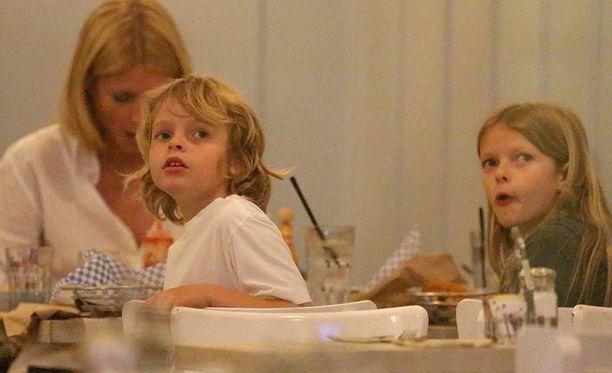 Gwyneth Paltrow'n esikoistytär Apple on 12-vuotias ja poika Moses kymmenen.