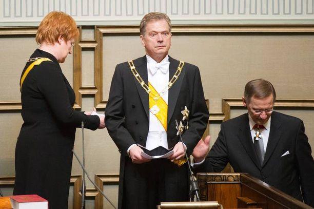 Tasavallan presidentti Sauli Niinistö symboloi Suomen vuosisataisia valtiomiesperinteitä aikakaudelta, jolloin Ruotsin historia oli myös meidän.