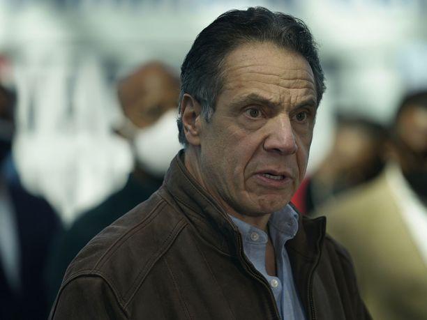 New Yorkin Andrew Cuomo ei aio erota.
