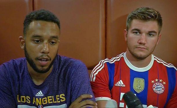 Anthony Sadlerista ja Alek Skarlatosista on tullut kansallissankareita perjantaisen juna-ammuskelun jälkeen.