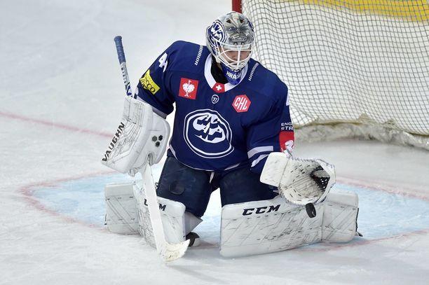 Dominik Hrachovina aloitti kauden Sveitsissä, siirtyi juuri Tshekkiin ja pelaa ensi kaudella Suomessa.