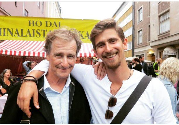 Riki Sorsa ja esikoispoika Rasmus olivat läheisiä.